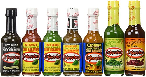 El Yucateco Variety 7-Pack (Best Hot Sauce compare prices)