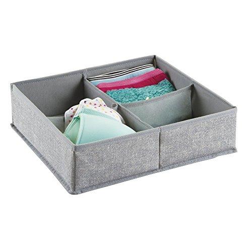 mdesign aufbewahrungsbox aus stoff f r schrank oder. Black Bedroom Furniture Sets. Home Design Ideas