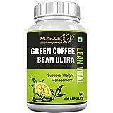 MuscleXP Green Coffee Bean Ultra Lean Vital (With Garcinia & Green Tea) - 90 Veg Caps