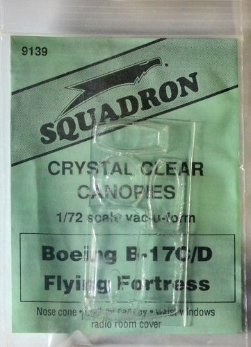 Squadron Products B-17C/D Vacuform Canopy