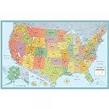 Rand McNally U.S.A. Folded Wall Map (M Series U.S.A. Wall Maps)