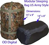 Compression sleeping bag