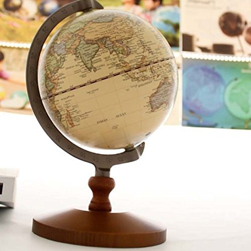 VStoy Vintage Reference World Globe Home Work Decor Wedding Educational Gift 14cm 1