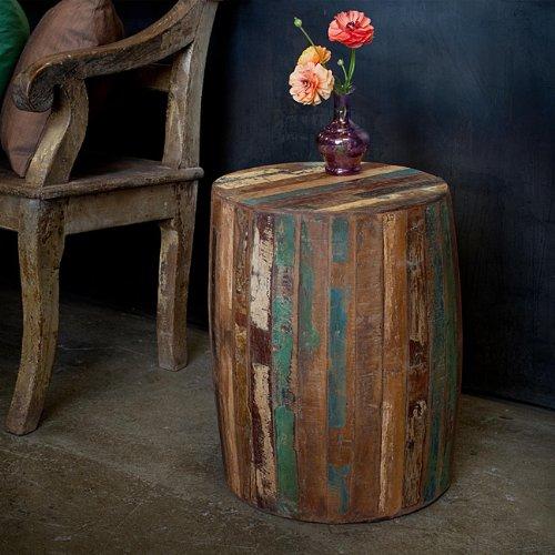 Reclaimed Wood Weathered Tanki Table