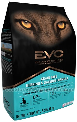 Evo Herring & Salmon Formula Cat & Kitten Food