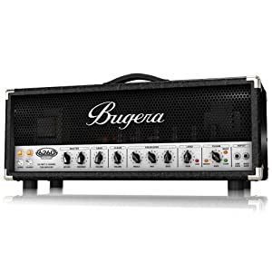 Bugera 6260-INFINIUM Ultimate Rock Tone 120-Watt 2-Channel Valve Amplifier Head with Reverb and INFINIUM Valve Life Multiplier