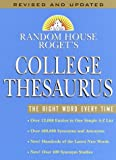 Random House Rogets College Thesaurus: Revised Edition