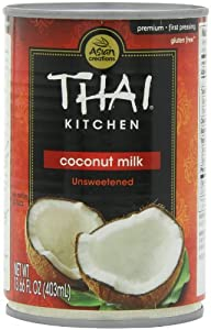 Thai Kitchen Pure Coconut Milk, 13.66-Ounce Cans (Pack of 12)