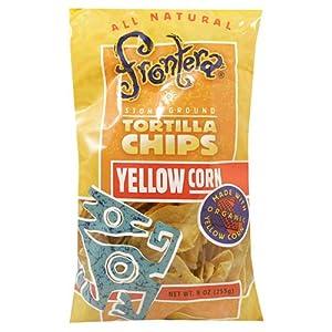 Amazon.com: Frontera Blue Corn Tortilla Chips, 12-Ounce
