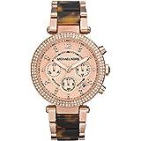 Michael Kors Parker Tortoise Acetate Women's Watch - MK5538