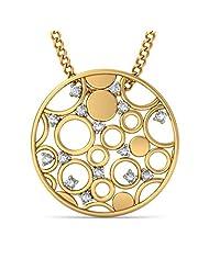 BlueStone 18K Yellow Gold Diamond Pendant - B00NHPA65E