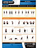 Upper Body Stretching Wall Chart - A1 Laminated with on-line video training support (smart phone only)
