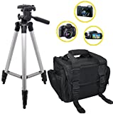 PHOTOGRAPHY-50-Tripod-Sleek-Digital-DSLR-CameraCamcorder-Padded-Carrying-Case-For-The-Photo-Enthusiast-or-Casual-Photographer-Nikon-Canon-Sony-Samsung