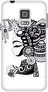 The Racoon Grip Lady hard plastic printed back case / cover for Samsung Galaxy S5 Mini