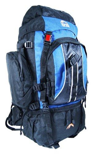 Outdoor Gear 8890 - Zaino da campeggio, nero (Air Force Blue), 70 l
