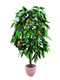 Mango Tree with Fruits Zementtopf I, 165 cm, Artificial Plants