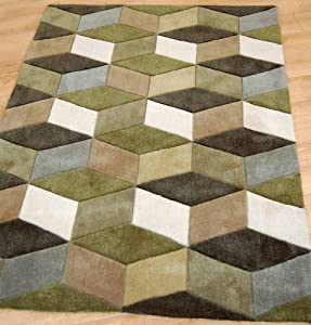 ORC Rugs 1.5 x 0.8 m Dimensions Rugs, Sage
