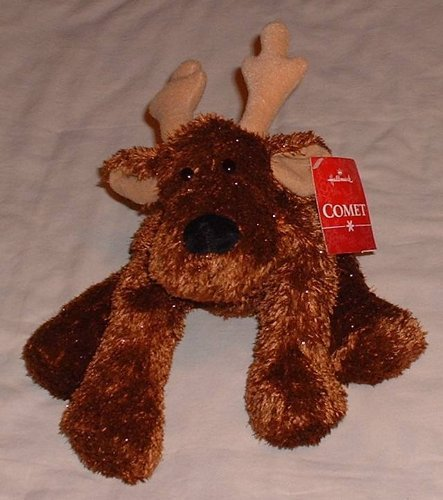 "12"" Chocolate Moose Plush"