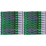 Pack of 20 Green Snap-On Cyalume Light Sticks for Power Outages, lightsticks, glowsticks