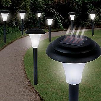Garden Creations JB5629 Solar-Powered LED Accent Light, Set of 8