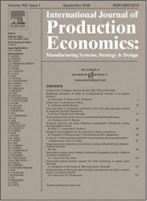 The impact of free goods on the performance of drum-buffer-rope scheduling systems [An article from: International Journal of Production Economics]