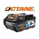 Ridgid 18V Bluetooth 6.0Ah HYPER OCTANE Battery Pack, AC8400806 (Color: blue)