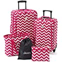 TravelQuarters Chevron 5-Piece Luggage Set