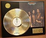 "Eagles ""Desperado"" Laser Etched Into The 24Kt Gold LP Record LTD Edition Display"
