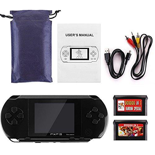 SAVFY® Jeu Electronique- Console PXP avec Plus 150 Jeux - Noir