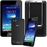 ASUS PadFone mini 4.3 A11 16GB 3G Dual-SIM Factory Unlocked (Phone and Station 2-in-1 Set, BLACK) - International Stock No Warranty