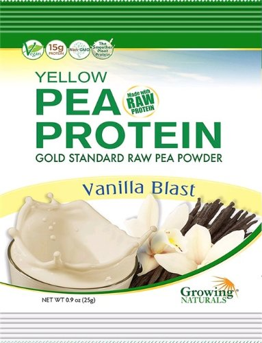 Pea Protein Powder Vanilla Blast (12 Packets) 0.90 Ounces