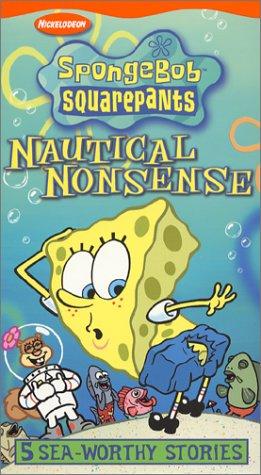 Spongebob Squarepants - Nautical Nonsense [VHS] (Good Old Bad Old Days compare prices)