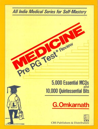 Medicine Pre-PG Test Review: 0