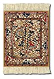 Coaster Rugs APC-C Asian Collection Mouse Mat - Dusty-Cold Ancient Oriental Pattern