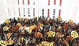 盛り上がろうハロウィンバナーガーランド装飾飾り【2種+収納袋】壁紙装飾品HALLOWEEN骸骨かぼちゃモール飾り付けKH15(かぼちゃ)