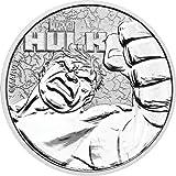 2019 TV 1 oz Tuvalu Hulk Marvel Series Silver Coin Dollar Uncirculated NGC