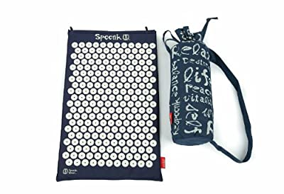 Spoonk Cotton Acupressure Mat with Carry-bag / Eco-foam USA Made