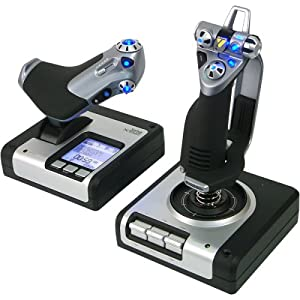 51H0R624GHL. SL500 AA300  Saitek X52 Flight Control System   $67 With Free Delivery