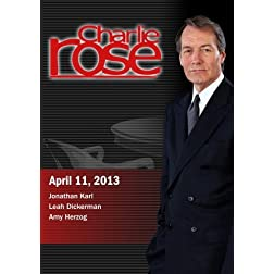 Charlie Rose -  Jonathan Karl; Leah Dickerman; Amy Herzog  (April 11, 2013)