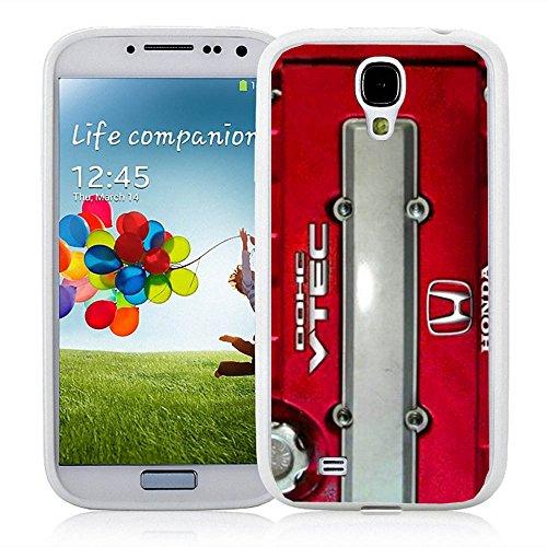 JDM Honda DOHC Vtech Valve Cover Red for Iphone and Samsung Galaxy (Samsung Galaxy S4 white) (Honda Vtech Emblem compare prices)
