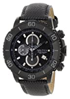 Nautica Men's N20062G NST 500 Black Polyurethane and Black Dial Watch by Nautica
