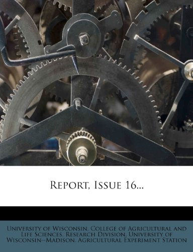 Report, Issue 16...