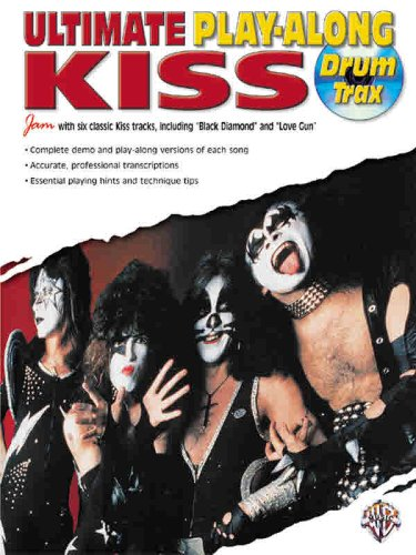 Ultimate Play-Along Drum Trax KISS (Book & CD)