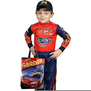 Childrens Nascar Jeff Gordon Nascar Costume in Large