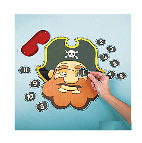 Pirate Party Game-Pin the Eye Patch on the Pirate-Great