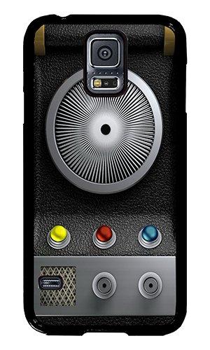 Samsung Galaxy S5 TPU Case AOFFLY® Star Trek Communicator Black Rubber Case For Samsung Galaxy S5 Case