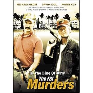 NEW In The Line Of Duty-fbi Murder (DVD)