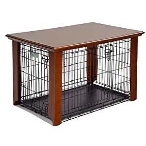 Quick dog crate spruce-up