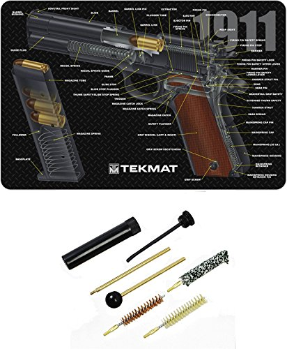 Great Deal! Ultimate Arms Gear Gunsmith & Armorer's Cleaning 1911 Cutaway Color 3D Gun Mat + Pistol ...