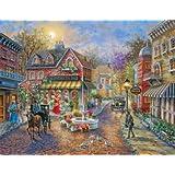 Cobblestone Village 500 Piece Jigsaw Puzzle